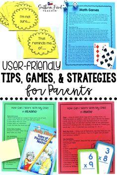 Parent Tips & Handou