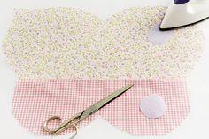 Almofada de patchwork em formato de borboleta - Portal de Artesanato - O melhor site de artesanato com passo a passo gratuito