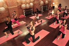 Live web streamed fitness classes. Cool idea! No watching the same old DVD over and over!