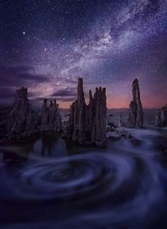 Around the Night photo - Mono Lake, California