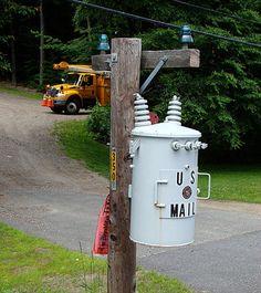 transformer mailbox