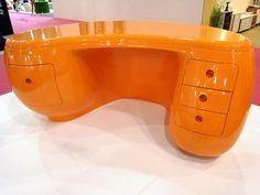 Boomerang Desk by Maurice Calka > the boomerang desk makes a comeback...