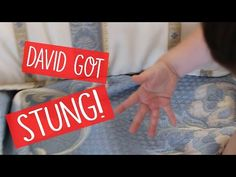David Got Stung By A Bee! Spanish Holiday Vlog Day 4 - YouTube