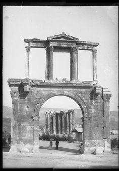 Αθήνα 16 Ιουνίου 1892. Athens June 16,1892. - Portal de Adriano e templo de Zeus