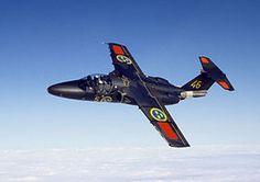 Saab 105 avion d'entrainement