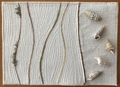Will this be my new love? Sandspaziergang / walking on the beach 25 x 10 cm x Walking, Beach Walk, New Love, Brooch, Quilts, Jewelry, Jewlery, Jewerly, Brooches