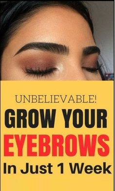 How to make your eyelashes & eyebrows Grow fast in just 7 days - Modern Design Make Eyebrows Grow, How To Grow Eyelashes, Thick Eyebrows, Perfect Eyebrows, Thick Eyebrow Shapes, Castor Oil Eyebrows, Eyelash Extensions Aftercare, How To Grow Your Hair Faster, Glow Up Tips