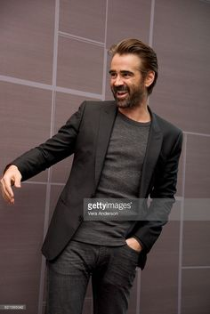 Colin Farrell at the 'Fantastic Beasts and Where to Find Them' Press Conference at the Four Seasons Downtown on November 6, 2016 in New York City.