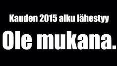 Kausi 2015 lähestyy!