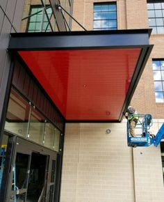 Masa Extrudeck Canopy At Mchenry Row In Baltimore Md Architecture Create Design Build Americanmade Baltimore Awning Canopy Custom Canopy Metal Awning