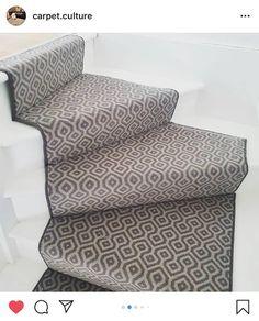 Axminster Carpets, Carpet Installation, Painted Stairs, Carpet Stairs, Carpet Design, Carpet Runner, Decoration, Service Design, Mattress