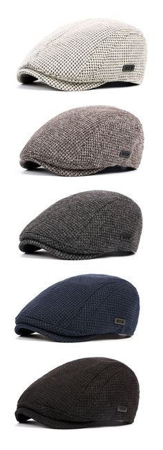 Men Cotton Gatsby Flat Cap Adjustable Knit Beret Ivy Hat Golf Hunting Driving Cabbie Hat is hot sale on Newchic. Gatsby, Style Masculin, Knitted Beret, Mens Gear, News Boy Hat, Flat Cap, Hats Online, Cool Hats, Hats For Men