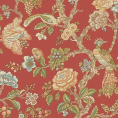 Handsome document tomato/sky blue/beige indoor wallcovering by York. Item WA7735. Discount pricing and free shipping on York wallpaper. Find thousands of designer patterns. Width 20.5 inches. Sold by the roll.