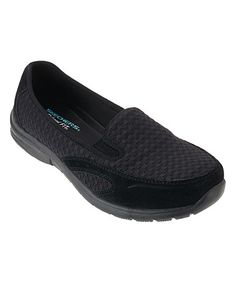 This Black Relaxed-Fit Comforter Loafer - Women by Skechers is perfect! #zulilyfinds