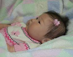 +girl+silicone+baby | Reborn Asian Baby Girl Anming New Ping Lau Doll | eBay