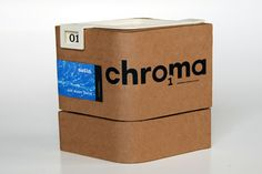 Packaging of the World: Creative Package Design Archive and Gallery: Chroma Paint (Student Work)