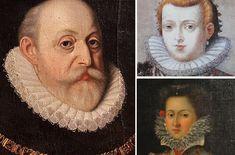 Vilém s posledními dvěma manželkami Annou Marií a Polyxenou