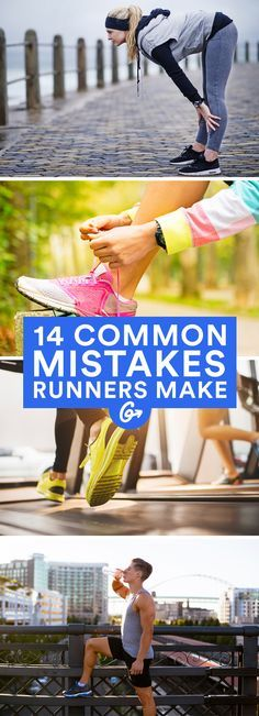 Here are 14 of the most common mistakes beginner runners make—and even some veterans too. #running #tips #technique http://greatist.com/move/how-to-run-properly-mistakes