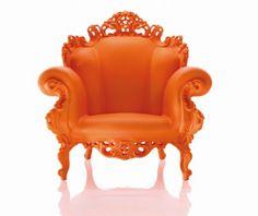 fotel godny księżniczki :)