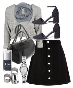 """Untitled #305"" by foreverdreamt ❤ liked on Polyvore featuring AG Adriano Goldschmied, Tory Burch, Yves Saint Laurent, Christian Dior, Marc by Marc Jacobs and MTWTFSS Weekday"