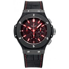 Hublot Big Bang Red Magic Black Dial Automatic Men's Watch 301CI1123GR