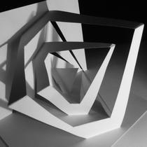 module II / temps 1/ plier, déplier, replier l'espace / origami architecture / kirigami / 1