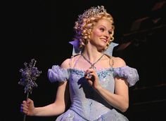 Stacie Morgain Lewis as Glinda in Wicked