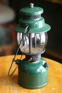 Antique Coleman Fuel Can Camping Camp White Gas Vintage