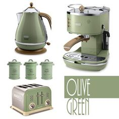 Majestic Design Green Kitchen Accessories My Coloured Liances View In Full Size
