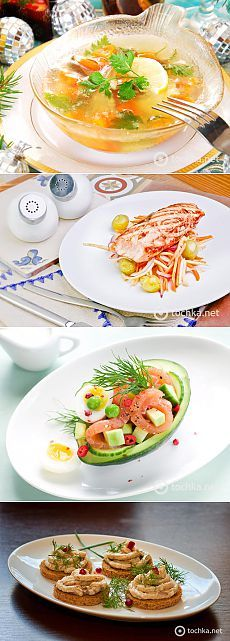 Меню - Рыбный стол на Новый год 2015 - tochka.net