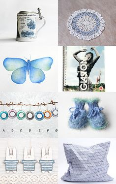 Just blue... by Linara on Etsy--Pinned with TreasuryPin.com