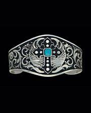 Montana Silversmiths® Ladies' Silver Cross Cuff Bracelet