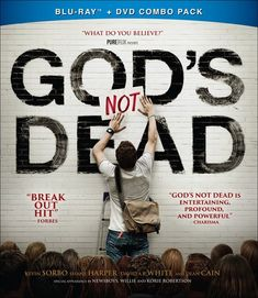 God's Not Dead Christian Movie/Film DVD with Kevin Sorbo, Newsboys from Pure Flix / Present-day college freshman and devout Christian, Josh Wheaton (Shane Harper), finds his faith challenged on his first day of Philosophy class by the dogmatic and argumentative Professor Radisson (Kevin Sorbo). Radisson begins class by informing students that they will need to disavow, in writing, the existence of God on that first day, or face a failing grade. As other students in the class begin scribbling…