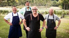 "MasterChef Australia S9 E36. This was the best week on the show with one of my top 10 favourite chefs - Heston Blumenthal. Callan's reaction was bloody hilarious. Absolutely LOVED the theme - very much my sort of thing and how I like to cook with themes (the four main elements - water, earth, air and fire). This is the first episode in ""Heston Week"" - be sure to watch the others too, the salt field is the best one. We are so VERY blessed to live in this beautiful country; it's unlike any…"