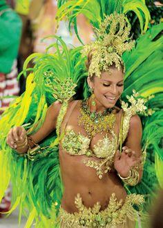 Rio's Carnaval, Rio De Janeiro, Brazil