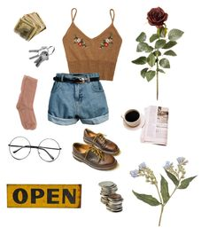"""""""the road"""" by anabeatrizfelipe ❤ liked on Polyvore featuring Retrò, Marni and Dr. Martens"""
