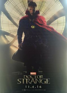 It's not in the best quality, but someone has just spotted a brand new poster for Doctor Strange ahead of San Diego Comic-Con where the Marvel adaptation is said to have a major presence. Marvel Comics, Ms Marvel, Marvel Heroes, Marvel Characters, Marvel Avengers, Mundo Marvel, Marvel Doctor Strange, Doctor Strange Poster, Doctor Strange Benedict Cumberbatch