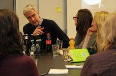 Journalist Kurt Strand holder etik-seminar for DR Nyheder. (Fotograferet til Journalisten.dk)