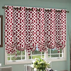 42 Best Tie Up And Balloon Shades Images Curtains Roman
