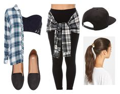 """The Tomboy Effect"" by tameraj ❤ liked on Polyvore featuring H&M, River Island, Rails, Vans and Tasha"