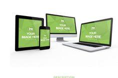 3D Responsive Website Mockup Generator Template   ShareTemplates