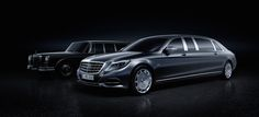 Mercedes-Benz unveiled the first images of the 2016 Mercedes-Maybach Pullman limousine prior to its debut at the Geneva Motor Show. Mercedes 600, Mercedes Benz Maybach, Pullman Mercedes, Nissan Gt R, Nissan 370z, Jaguar Xj, Volvo Xc90, Rolls Royce Phantom, Audi A8