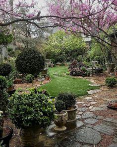Garden Design For Kids .Garden Design For Kids Cottage Garden Design, Love Garden, Dream Garden, Amazing Gardens, Beautiful Gardens, Back Gardens, Outdoor Gardens, Low Maintenance Garden Design, The Secret Garden