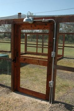 Would love this well lit main entrance for all the animal pens