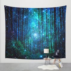 forest tapestry/forest path tapestry/magical by haroulitasDesign