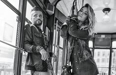 Bruno Gagliasso e Giovanna Ewbank são os modelos da campanha da parceria - clica na foto pra ver as peças!