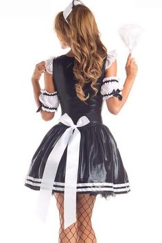 Really Cute Outfits, Pretty Outfits, Beautiful Outfits, French Maid Dress, French Maid Costume, Maid Lingerie, Proper Attire, Maid Outfit, Girl Outfits