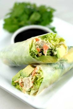 California Rice Paper Rolls plus 24 more gluten and dairy free lunch ideas