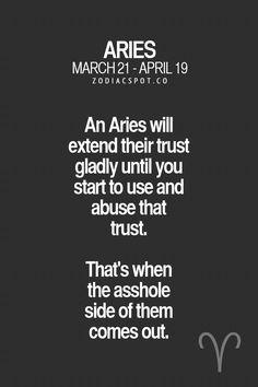 Aries so true