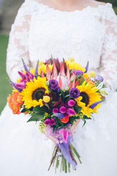 Cosmic Flower Shop: Louise and Alistair, Doxford Hall, September 2015